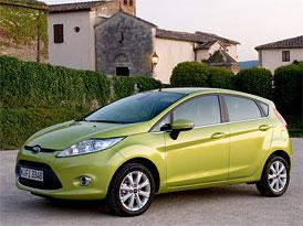 Ford Fiesta v březnu 2009 nejprodávanějším automobilem v Evropě, celkově vede VW Golf