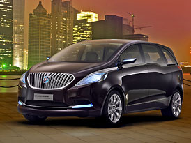 Buick Business Concept: Přípravy na vstup do segmentu MPV