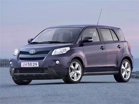 Toyota Urban Cruiser na českém trhu: Základní cena 399.900,- Kč, s pohonem 4x4 od 519.900,- Kč