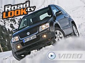 Suzuki Grand Vitara vs. sněhová kalamita (Roadlook TV)