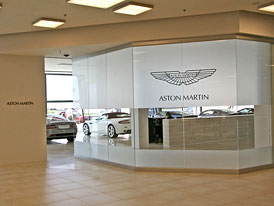 Aston Martin: Nový showroom oficiálně otevřen v Praze, britskou značku zastupuje Auto Exner