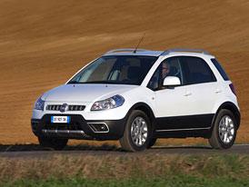 Fiat Sedici: Nová tvář a dva nové motory (1,6 88 kW a 2,0 JTD 99 kW)