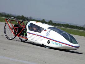 HydrogenIX: Český elektromobil s palivovými články pro Shell Eco-Marathon Europe 2009