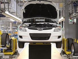 Vedení nošovického Hyundaie zrušilo všechny nařízené přesčasy