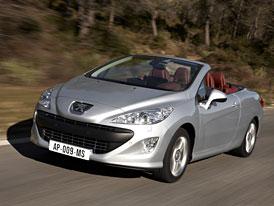 Peugeot 308 CC: Na českém trhu od 609.000,- Kč