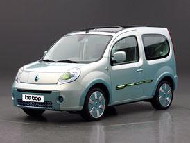 Renault Kangoo Be Bop Z.E.: Další krok k sériovým elektromobilům