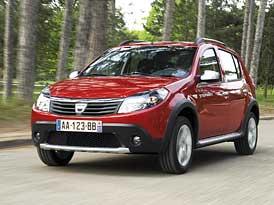 Dacia Sandero Stepway: Se vzhledem SUV i pro Evropu