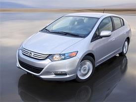 Honda Insight: Prvn� hybrid, kter� v Japonsku ovl�dl m�s��n� statistiku prodeje