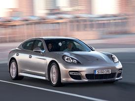 Porsche letos očekává prodej 50 vozů Panamera na českém trhu