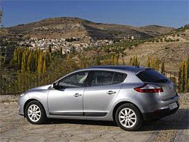 Český trh v dubnu 2009: Renault Mégane v nižší střední třídě znovu stříbrný, celkově dohání Cee'd