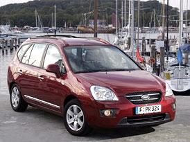 Kia Carens nyní i s motorem 1,6 CVVT (97 kW) za 375 tisíc Kč