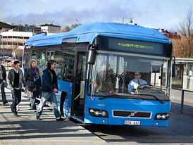 Volvo 7700 Hybrid bus: Městský autobus s hybridním pohonem