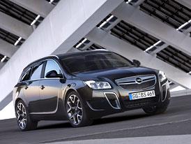 Opel Insignia Sports Tourer OPC: Superopel také s karoserií kombi (video)