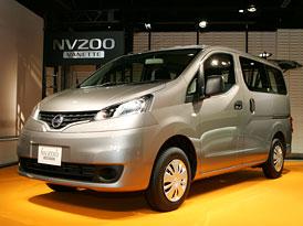 Nissan NV200 Vanette: Prodej v Japonsku je zahájen