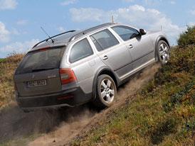 Škoda Octavia Scout: První jízdní dojmy