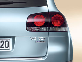 Volkswagen Touareg V6 TDI: Nižší spotřeba díky úpravám BlueMotion