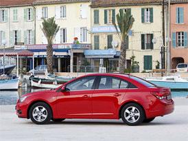 Chevrolet Cruze: Ceny jsou teď o 10 až 19 tisíc nižší než před rokem, základ za 309.900,-Kč