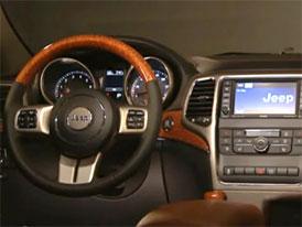 Video: Jeep Grand Cherokee � Interi�r nov�ho modelu