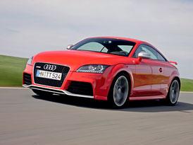 Audi TT RS (250 kW, 450 Nm): Přeplňovaný pětiválec se vrací, česká cena 1.569.300,-Kč