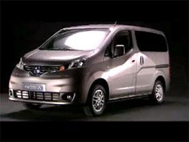 Video: Nissan NV200 Vanette – Exteriér nového užitkového modelu