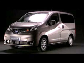 Video: Nissan NV200 Vanette � Exteri�r nov�ho u�itkov�ho modelu