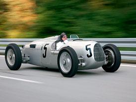 Auto Union: Stříbrné šípy se čtyřmi kruhy slaví 75 let