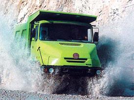 Pololetní tržby skupiny Tatra klesly o 46 % na 2,2 mld. Kč