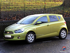 Spy Photos: Nov� mal� Chevrolet jako konkurent pro Fabii?