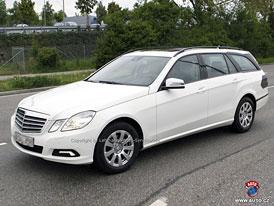 Spy Photos: Mercedes-Benz E - kombi  míří na IAA