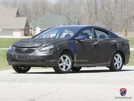 Spy Photos: Hyundai i40 jako nástupce Sonaty (nové fotografie)