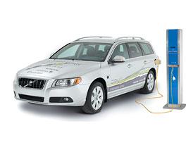 Volvo V70 Plug-In Hybrid: Volvo chce být lídrem na poli plug-in hybridů