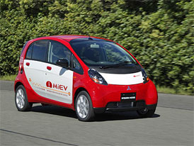 Mitsubishi spustilo sériovou výrobu modelu i MiEV