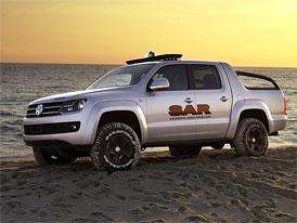 Volkswagen Amarok se představí nejprve na Dakaru 2010