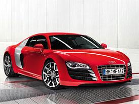 Audi R8 V10: Nejrychlejší sériové Audi stojí 3,9 milionu Kč