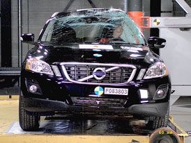 Euro NCAP 2009:  Volvo XC60 – Pět hvězd letos i v roce 2010