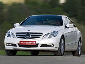Mercedes-Benz E Coupe: Prvn� j�zdn� dojmy
