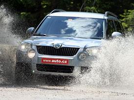 Škoda Yeti nejprodávanějším SUV v Rakousku, celkově vede Golf