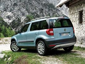 Škoda Yeti: Motor 1,4 TSI vyplní mezeru mezi 1,2 TSI a 1,8 TSI