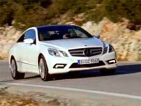 Video: Mercedes-Benz E Coupe – Nová generace dvoudveřového kupé