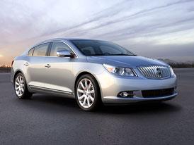 Buick LaCrosse: Nabídku motorů doplní čtyřválec Ecotec 2,4 l