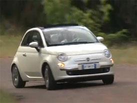 Video: Fiat 500C � Novinka s pl�t�nou st�echou