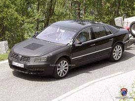 Spy Photos: Volkswagen Phaeton - Facelift pro nejv�t��ho