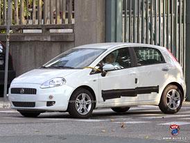 Spy Photos: Fiat Grande Punto s novým interiérem (nové foto)