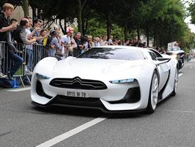 GTbyCITROËN: Francouzský supersport  v ulicích Londýna