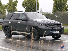 Spy Photos: Mercedes-Benz ML - Třetí generace