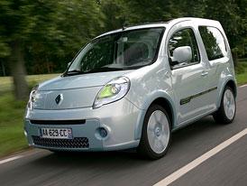 Renault Kangoo Be Bop Z.E.: První ze čtyř elektromobilů vyrazil na silnice