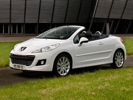 Peugeot 207 CC: Nový design a nový ceník začínající od 509.900,-Kč