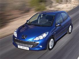 Peugeot 206+: Druhý motor 1,4 l (55 kW) v českém ceníku za 239.900,-Kč