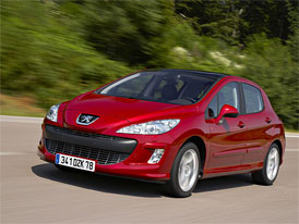 Peugeot 308: Nový ceník s první cenou 349.900,- Kč včetně klimatizace