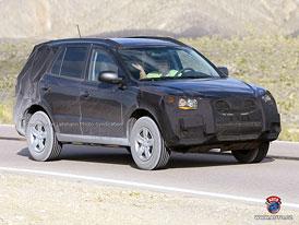 Spy Photos: Hyundai chystá modernizaci Santa Fe (nové foto)